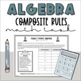 Patterning and Algebra Task: Composite Patterns