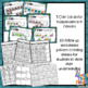 Pattern Activity Mats with AB, ABB, AAB, ABC, Missing Patterns & worksheets