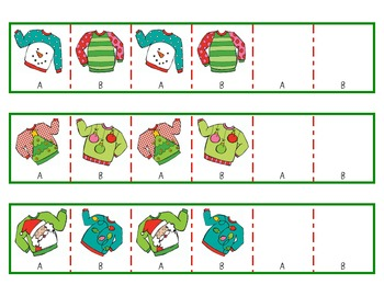 Patterning with Holiday Sweaters