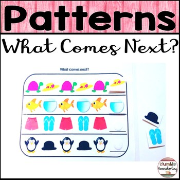 Patterns -AB, AAB, AABB, and ABC