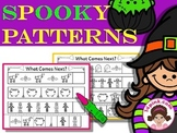 Math Patterns Repeating Patterns (Halloween Theme)