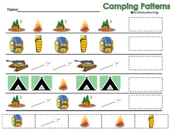 Patterns: Camping edition