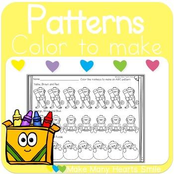 School Monkey Patterns