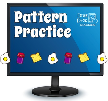 Math Pattern Recognition Game for Smartboard or PC