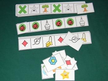 Patterns 2nd Version Math Center, Classroom Game- Hard Good