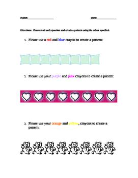 Patterns (3rd grade APA)