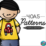 Patterns 4.OA.5