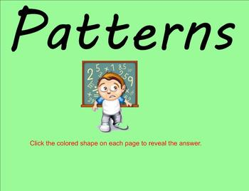 Patterns - 5th grade Smartboard Lesson