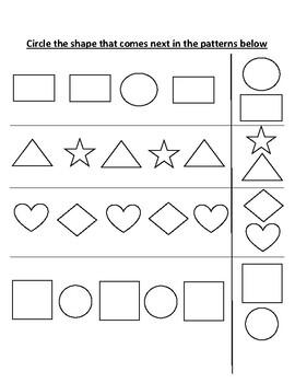 Patterns (AB -AAB)