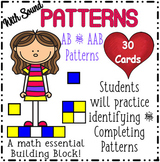 Patterns - AB and AAB **HUGE** 30 card Boom Card Deck