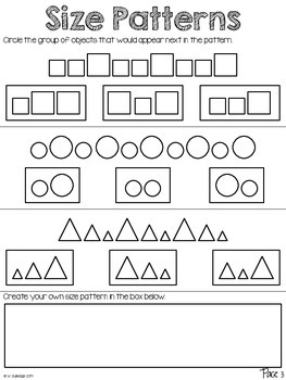 Patterns: An Enrichment Activity Packet
