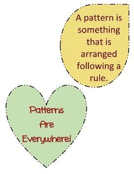 Patterns Anchor Chart