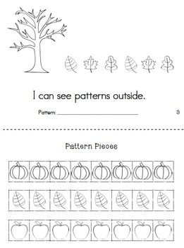 Patterns Are Everywhere: A sight word pattern book