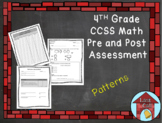 Patterns Assessment CCSS Aligned