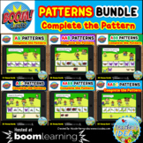 Patterns BUNDLE - Bugs and Insects Themed Pattern Boom Cards™
