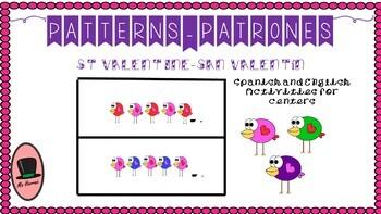 Patterns BUNDLE about St Valentin. Patrones Español-English de San Valentín