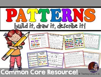 Patterns! Build it, Draw it, Describe it