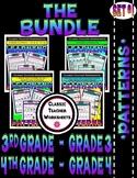 Patterns Bundle - Patterns - Set 1 -  3rd Grade (Grade 3)