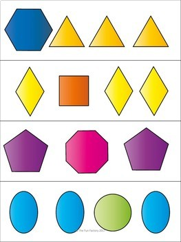Patterns  ~ Center Activities and Worksheets