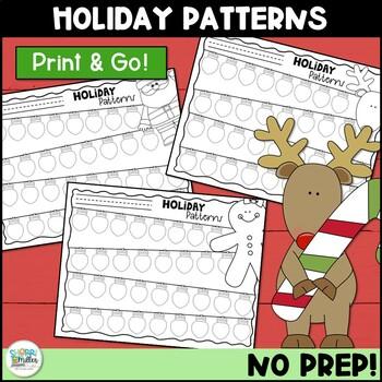 Patterns Coloring Sheets: Holiday Lights