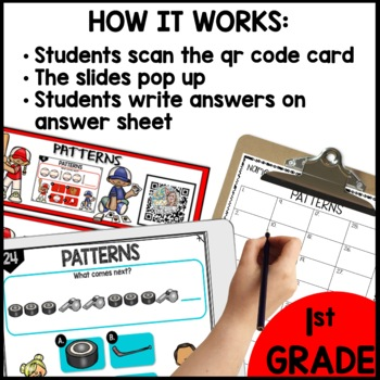 Patterns DIGITAL TASK CARDS