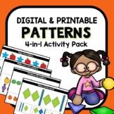 Patterns Digital Google Slides Bundle for PreK and K