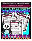 Drawing Patterns-AB, AAB, ABB, ABC Patterns-Kindergarten to Grade 1 (1st Grade)