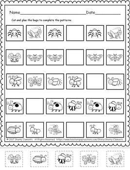 Patterns FREEBIE (Bugs)