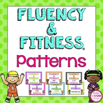 Patterns Fluency & Fitness Brain Breaks Bundle