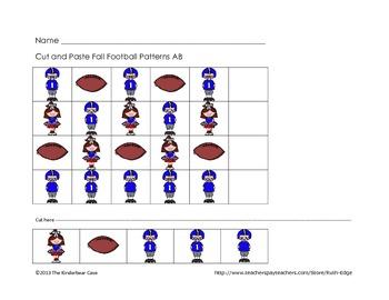 Patterns Football Fun Pack