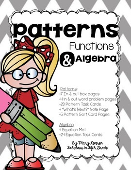 Patterns, Functions, and Algebra BUNDLE!
