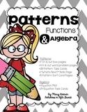 Patterns, Functions, and Algebra BUNDLE!