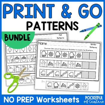 Patterns {GROWING BUNDLE} Printables
