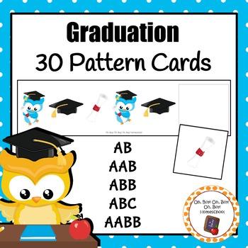 Patterns: Graduation Pattern Cards