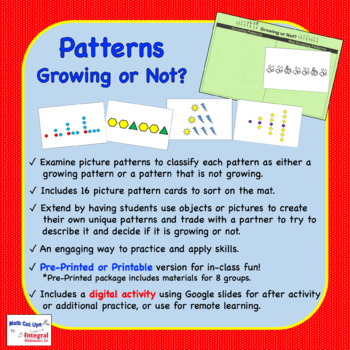 Patterns: Growing or Not?