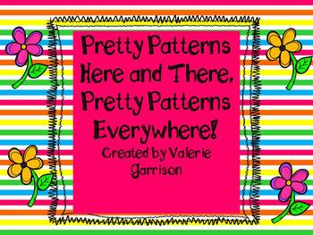 Patterns Here, Patterns There, Patterns Everywhere!  Math mats and gameboards