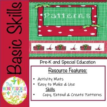 Patterns Holiday Activity Mats