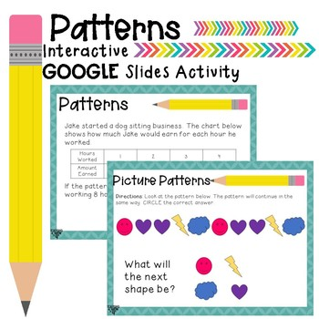 Patterns Interactive Activity