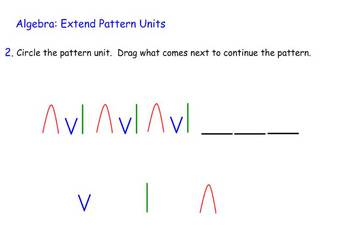 Patterns -- Interactive SmartBoard file 35 pages