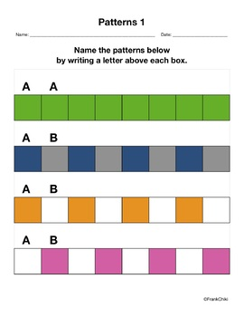 Patterns-Learning and Creating
