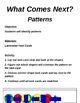 Patterns Matching Game
