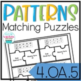 Patterns Matching Puzzles 4th Grade