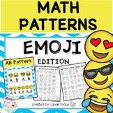Patterns - Math Activities Emoji Theme
