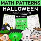 Patterns - Math Activities for October and Halloween