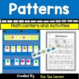 Identifying Patterns & Making Patterns Centers & Worksheets | AB ABC AAB ABB
