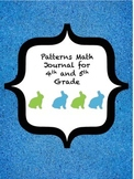 Patterns Math Journal