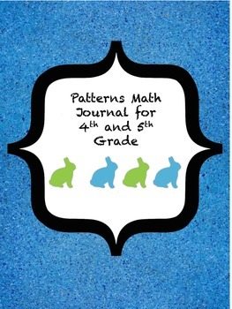 Patterns Math Journal