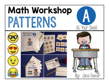 Patterns Math Workshop Activities Using Emojis