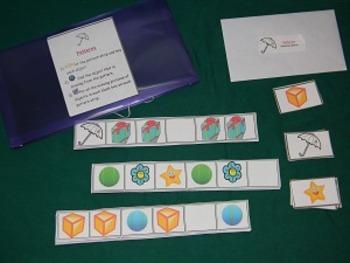 Patterns- Math center
