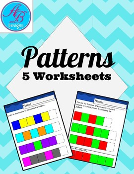 Patterns. No Prep. Review. Centers.